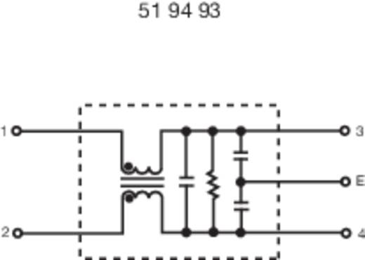 Entstörfilter 250 V/AC 10 A 0.3 mH (L x B x H) 68 x 55 x 25 mm Yunpen YG10T5 1 St.
