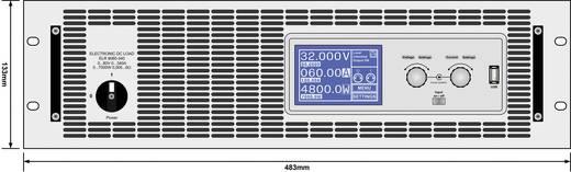 Elektronische Last EA Elektro-Automatik EA-ELR 9080-340 3U 80 V/DC 340 A 7000 W Kalibriert nach DAkkS