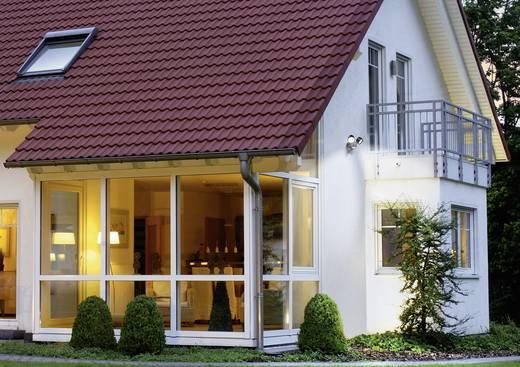 LED-Außenstrahler mit Bewegungsmelder 8 W Neutral-Weiß GEV Duo LLL 14718 014718 Schwarz
