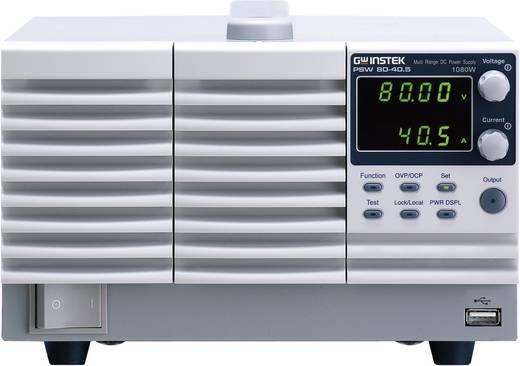 Labornetzgerät, einstellbar GW Instek PSW80-40,5 0 - 80 V/DC 0 - 40 A 1080 W Anzahl Ausgänge 1 x Kalibriert nach ISO