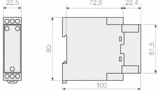 Überwachungsrelais 24 V/DC, 24 V/AC 1 Wechsler 1 St. Fanox T2-24 VAC/DC Temperatur