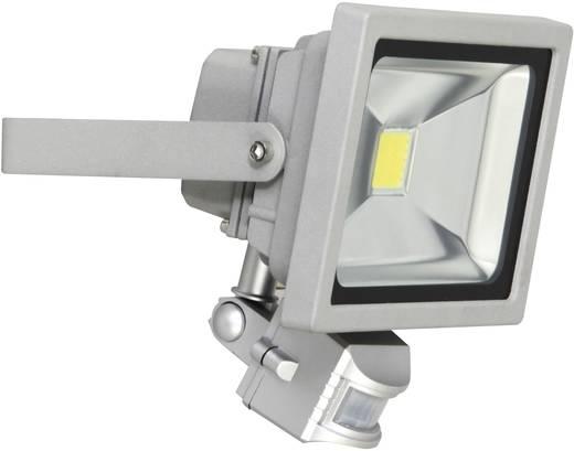 LED-Außenstrahler mit Bewegungsmelder 20 W Tageslicht-Weiß XQ lite XQ-Lite XQ1221 Grau