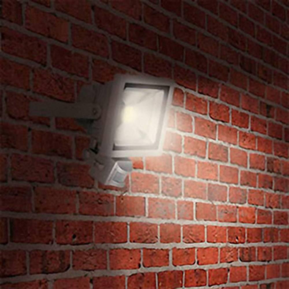 projecteur led ext rieur avec d tecteur de mouvements blanc lumi re du jour xq lite xq lite 20 w. Black Bedroom Furniture Sets. Home Design Ideas