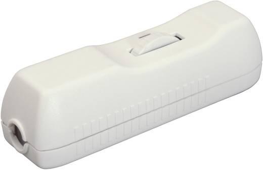 Schnurdimmer mit Zugentlastung Weiß Schaltleistung (min.) 40 W Schaltleistung (max.) 160 W interBär 8015-008.10 1 St.