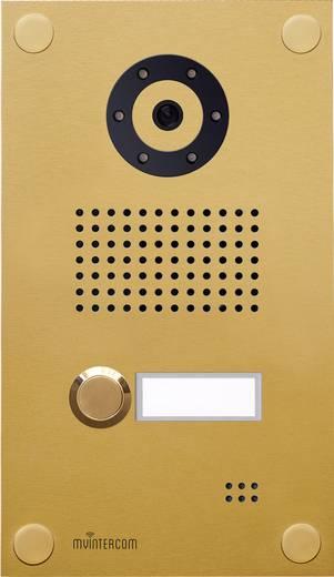 IP-Video-Türsprechanlage LAN Außeneinheit myintercom myi0004 1 Familienhaus Gold