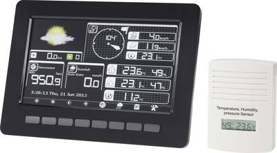 Wireless digital weather station HP1001 WIFI Forecasts for 12 to 24 hours