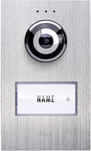 m-e modern-electronics VDV 610 compact Video-Türsprechanlage Kabelgebunden Außeneinheit 1 Familienhaus Edelstahl