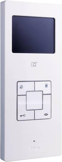 Video-Türsprechanlage Kabelgebunden Inneneinheit m-e modern-electronics Vistus VD603 Silber, Weiß