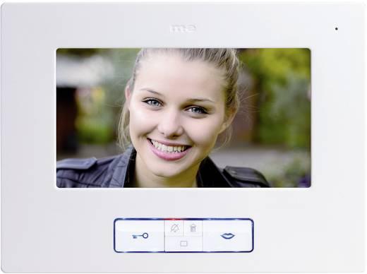 Video-Türsprechanlage Kabelgebunden Inneneinheit m-e modern-electronics Vistus VD 607 Weiß