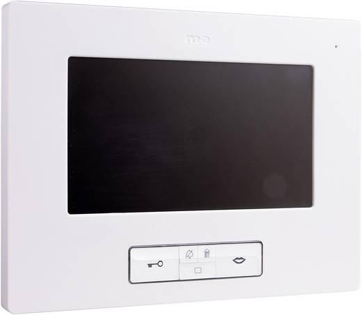 m-e modern-electronics Vistus VD 607 Video-Türsprechanlage Kabelgebunden Inneneinheit Weiß