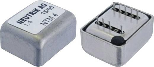 Audio-Übertrager NTM4 Impedanz: 10000 Ω Windungsverhältnis: 1:4 Neutrik Inhalt: 1 St.