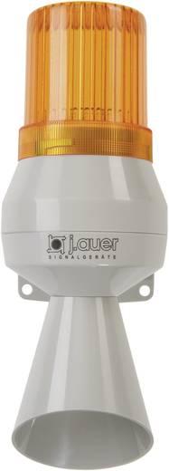 Kombi-Signalgeber Auer Signalgeräte KLF Orange Blitzlicht, Einzelton 12 V/DC