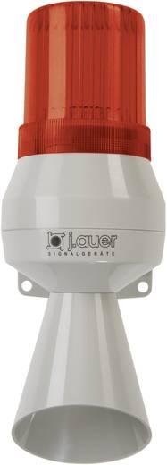 Kombi-Signalgeber Auer Signalgeräte KLF Rot Blitzlicht, Einzelton 24 V/DC