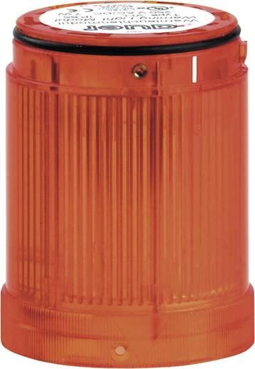 Signalsäulenelement LED Auer Signalgeräte VDC Orange Dauerlicht 12 V/DC, 12 V/AC, 24 V/DC, 24 V/AC