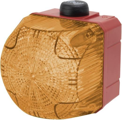 Kombi-Signalgeber Auer Signalgeräte QSS Orange Dauerlicht, Blinklicht 24 V/DC, 24 V/AC 85 dB