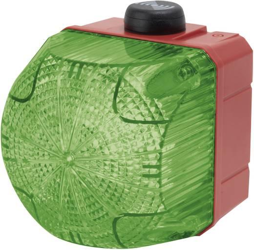 Kombi-Signalgeber Auer Signalgeräte QSS Grün Dauerlicht, Blinklicht 230 V/AC 85 dB