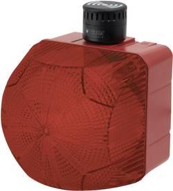 Kombinované signalizační zařízení LED Auer Signalgeräte QSM, červená, trvalé světlo, blikající světlo, 230 V/AC