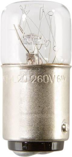 Auer Signalgeräte Leuchtmittel Glühlampe GL16 230/240 V 4 W, BA15d