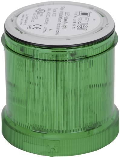 Signalsäulenelement Auer Signalgeräte XDC Grün Dauerlicht 24 V/DC, 24 V/AC