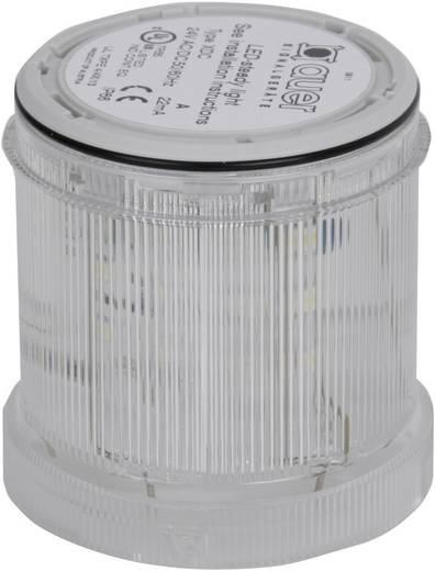 Signalsäulenelement Auer Signalgeräte XDC-HP Weiß Dauerlicht 24 V/DC, 24 V/AC