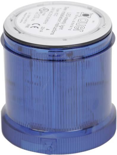 Signalsäulenelement Auer Signalgeräte XDC-HP Blau Dauerlicht 24 V/DC, 24 V/AC