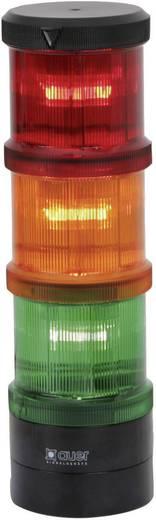 Signalsäulenelement Auer Signalgeräte XFF-HP Rot Blitzlicht 24 V/DC, 24 V/AC