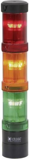 Signalsäulenelement Auer Signalgeräte ZDF Rot Blitzlicht 24 V/DC, 24 V/AC