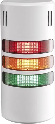 Auer Signalgeräte LED-Signalsäulensystem halfDOME90 HD90 LED-Dauerlicht Rot, Orange, Grün 3-stufig Schutzart IP65