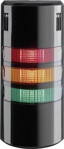 Auer Signalgeräte LED-Signalsäulensystem halfDOME90 HD90 LED-Dauerlicht Rot, Orange, Grün 3-stufig/Piezo-Summer Schutzart IP65