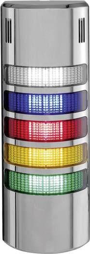 Auer Signalgeräte LED-Signalsäulensystem halfDOME90 HD90 LED-Dauerlicht Blau, Klar, Rot, Orange, Grün 5-stufig Schutza