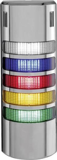 Auer Signalgeräte LED-Signalsäulensystem halfDOME90 HD90 LED-Dauerlicht Blau, Klar, Rot, Orange, Grün 5-stufig Schutzart IP65