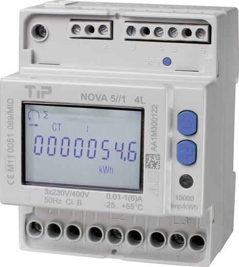 Drehstromzähler mit Wandleranschluss digital 5 A MID-konform: Ja TIP NOVA 5//1 MID - 4L