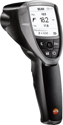 testo 835-T1 Infrarot-Thermometer Optik 50:1 -30 bis +650 °C Kontaktmessung