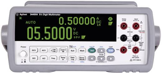 Tisch-Multimeter digital Keysight Technologies 34450A Kalibriert nach: Werksstandard CAT II 300 V Anzeige (Counts): 100000