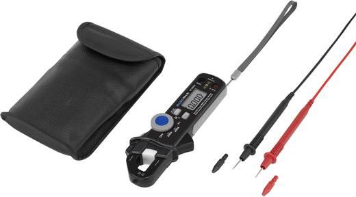 Stromzange, Hand-Multimeter digital Basetech BT-200CM Kalibriert nach: Werksstandard CAT III 600 V, CAT IV 300 V Anzeig