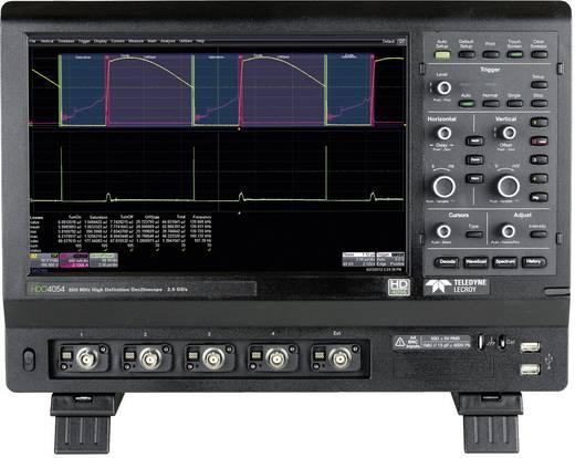 Digital-Oszilloskop Teledyne LeCroy HDO4034 350 MHz 4-Kanal 2.5 GSa/s 12.5 Mpts 12 Bit Kalibriert nach DAkkS Digital-Spe