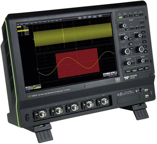 Digital-Oszilloskop Teledyne LeCroy HDO4024 200 MHz 4-Kanal 2.5 GSa/s 12.5 Mpts 12 Bit Digital-Speicher (DSO)