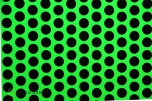 Plotterfolie Oracover Easyplot Fun 1 91-041-071-010 (L x B) 10000 mm x 380 mm Grün-Schwarz (fluoreszierend)
