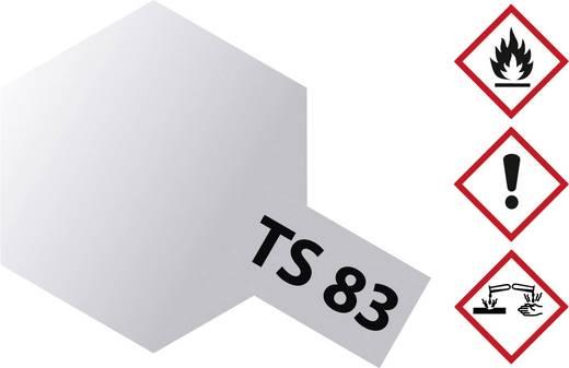 Tamiya 300085083 Acrylfarbe Metallic-Silber Farbcode: TS-83 Spraydose 100 ml