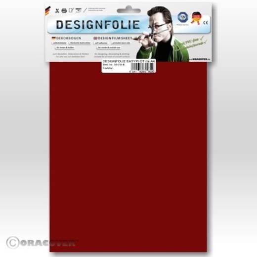 Designfolie Oracover Easyplot 50-020-B (L x B) 300 m x 208 cm Rot