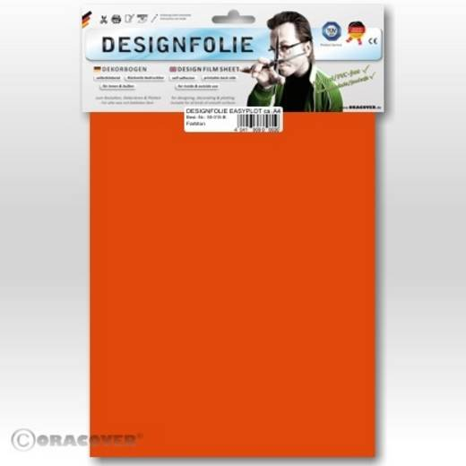 Designfolie Oracover Easyplot 50-060-B (L x B) 300 mm x 208 cm Orange