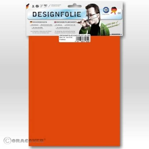 Designfolie Oracover Easyplot 50-060-B (L x B) 300 mm x 208 mm Orange