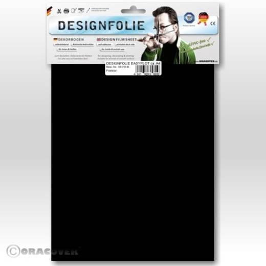 Designfolie Oracover Easyplot 50-071-B (L x B) 300 mm x 208 mm Schwarz