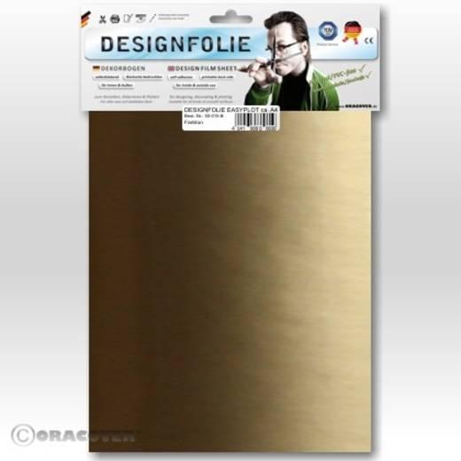 Designfolie Oracover Easyplot 50-092-B (L x B) 300 mm x 208 mm Gold