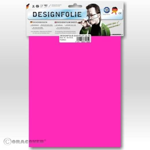Designfolie Oracover Easyplot 50-014-B (L x B) 300 mm x 208 mm Neon-Pink (fluoreszierend)