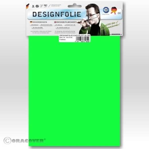 Designfolie Oracover Easyplot 50-041-B (L x B) 300 mm x 208 mm Grün (fluoreszierend)