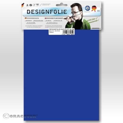 Designfolie Oracover Easyplot 80-059-B (L x B) 300 m x 208 cm Transparent-Blau