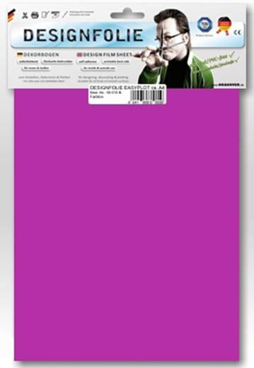 Designfolie Oracover Easyplot 80-073-B (L x B) 300 mm x 208 mm Transparent-Magenta