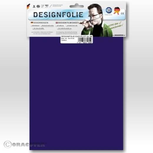 Designfolie Oracover Easyplot 80-074-B (L x B) 300 mm x 208 mm Transparent-Blau-Lila