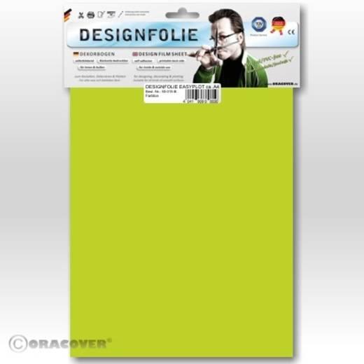 Designfolie Oracover Easyplot 80-049-B (L x B) 300 mm x 208 mm Transparent-Hellgrün